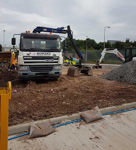 Ground Preparation - Oldham - Lancashire - Manchester - North West