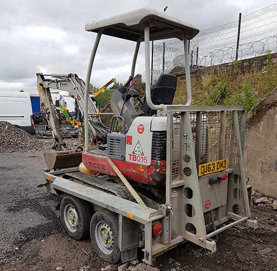 Plant Hire - Oldham - Lancashire - Manchester - North West